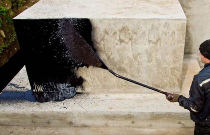 Обмазочная гидроизоляция цоколя
