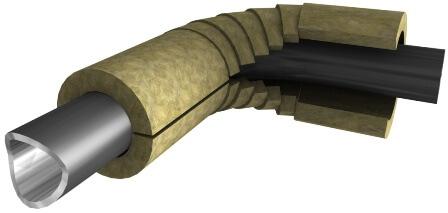 Вариант монтажа цилиндра на угловую трубу
