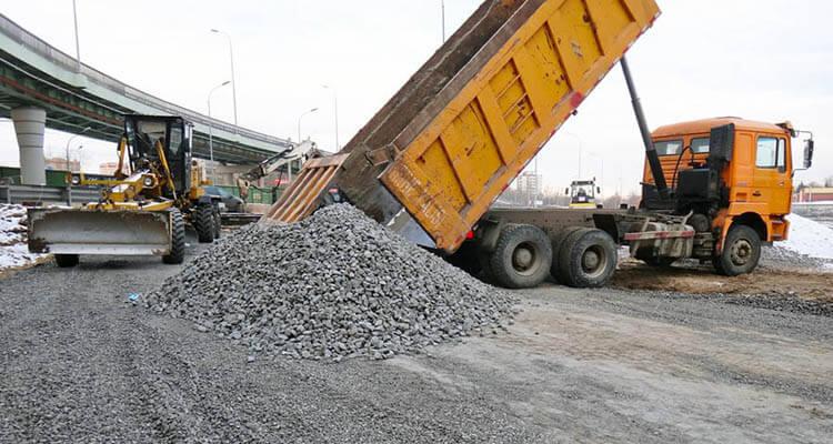 Использование пеностекла при укладке дорог