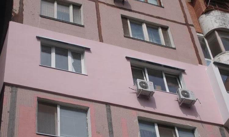 Утепление стен панельного дома экструдированным пенополистеролом