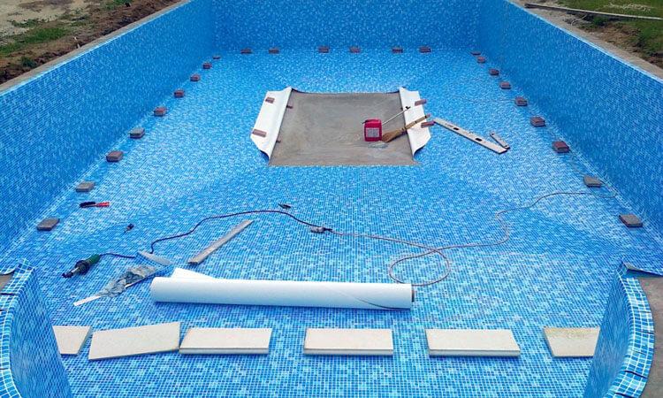Гидроизоляция бассейна мембраной