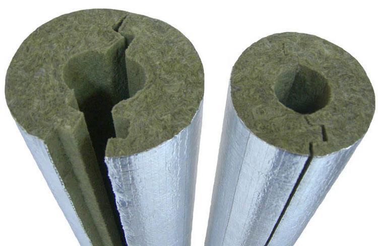 Базальтовый рулонный утеплитель с фольгированной поверхностью