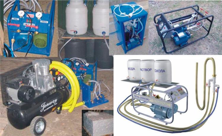 Оборудование для приготовления пеноизола